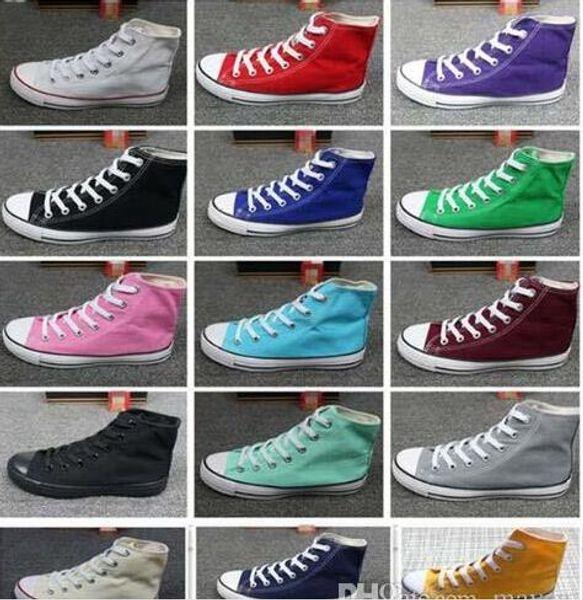 15 color size 35-46 new 2019 drop shipping women men unisex men sneakers women sneakers for women and canvas shoes BIG SIZE