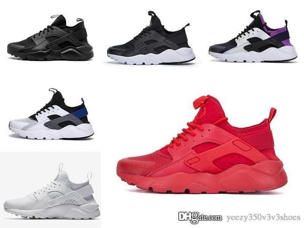 2019 Дешевле Новый Huarache 4.0 1.0 Обувь Для Мужчин Женщин Черный Белый Серый Высокое Качество Дешевые Huaraches мужские Дизайнерская Обувь 36-45