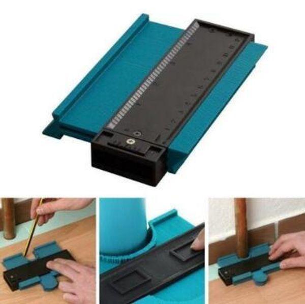 "Plastic Profile Copy Gauge Contour Gauge Duplicator Standard 5"" Width Wood Marking Tool Hand Tiling Laminate Tiles Hand Tools CCA11356 30pcs"