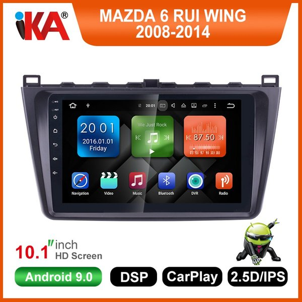 Android 8.1 2DIN Car Head Unit Radio Audio GPS Multimedia Player For Mazda 6 Rui wing 2008 2009 2010 2011 2012 2013 2014