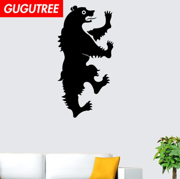 Decorate Home bear cartoon art wall sticker decoration Decals mural painting Removable Decor Wallpaper G-2172