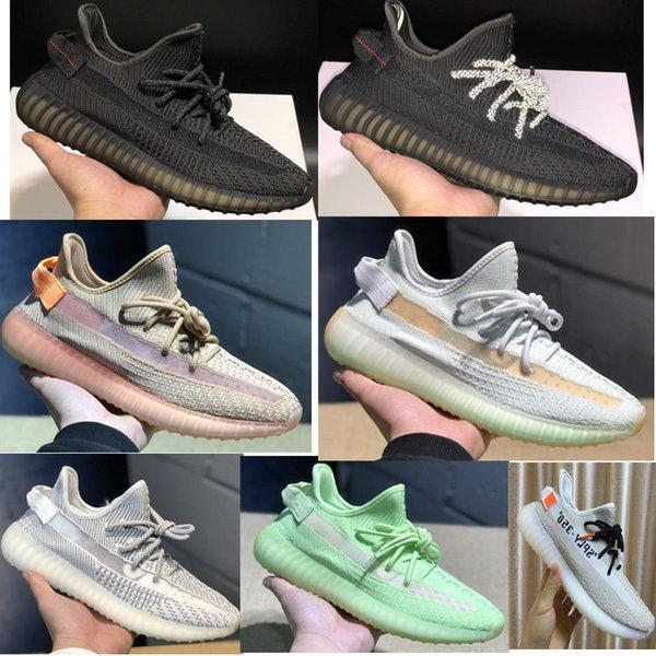 2019 yeezy 350 v2 kanye we t yezzy cloud white citrin black non reflective triple white butter men women glow zebra port training hoe