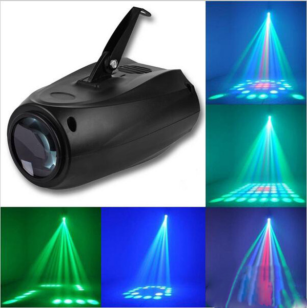 Eyourlife 64 Led DJ Disco Lights Sound-attivato RGBW Stage Light Music Show per DJ Party KTV Club Bar Effetto luce Luci laser per vacanze