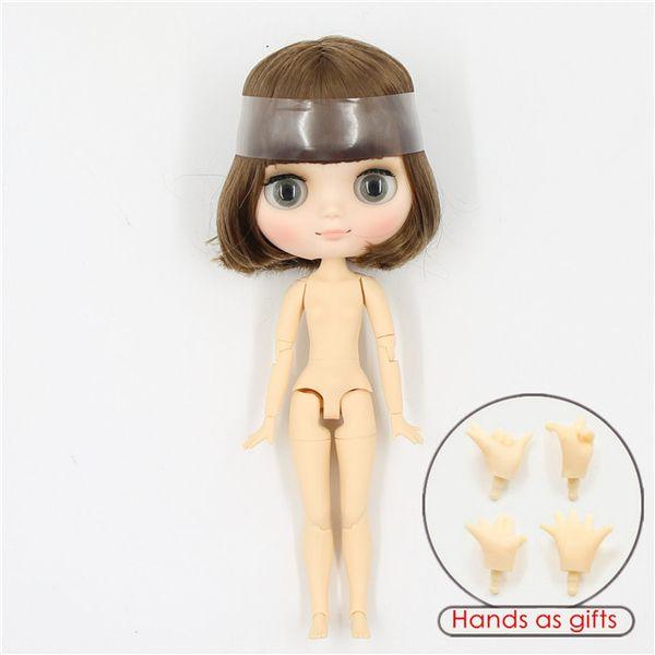 k-mattes Gesicht-mittlere Puppe (20cm)