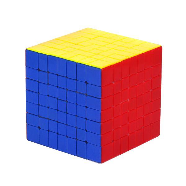 Cubo quadrato di plastica 7x7 del quadrato di plastica del cubo del giocattolo di addestramento del cervello di plastica per il commercio all'ingrosso