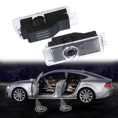 2pcs For BMW Car door Light Ghost Shadow Welcome Laser Projector Lights LED Car Door Logo For BMW X5 X3 E90 E92