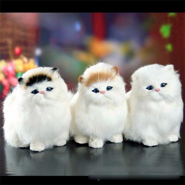 Spielzeug für Jungen Mädchen Elektronischer Plüsch Katzen süß 3 4 5 6 7 8 9 Jahre alt