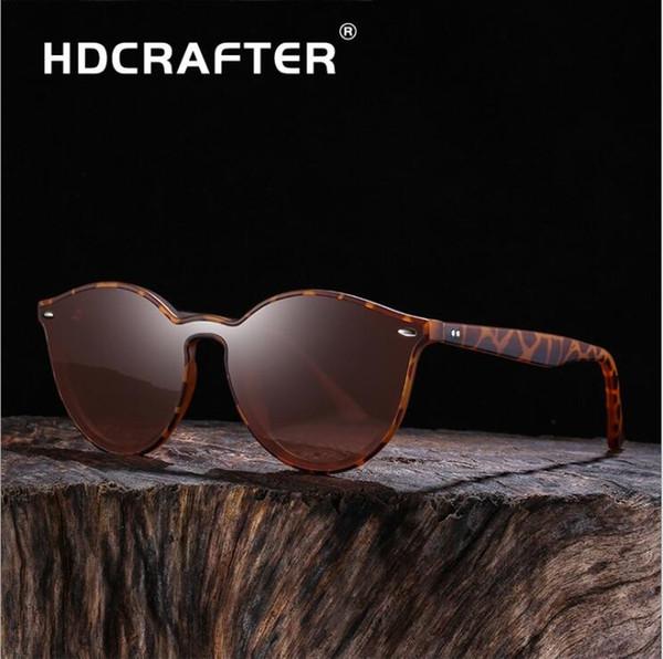 HDCRAFTER Fashion Classic Polarized TR-Sonnenbrille Großer Rahmen Anti-Glare Driving Riding UV-beständig Blenden Trend Sonnenbrille, Geschenkbox