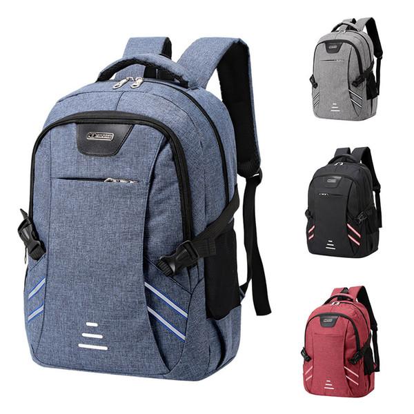 Men's Waterproof Backpack Business Nylon Men Laptop Bag Large Capacity New Travel Backpack College Student School Bags C514