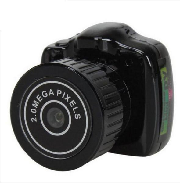 Mini Kamera HD Video Audio Recorder Webcam Y2000 Camcorder Kleine DV DVR Sicherheit Geheimnis Kindermädchen Auto Sport Micro Cam mit Mikrofon STY160