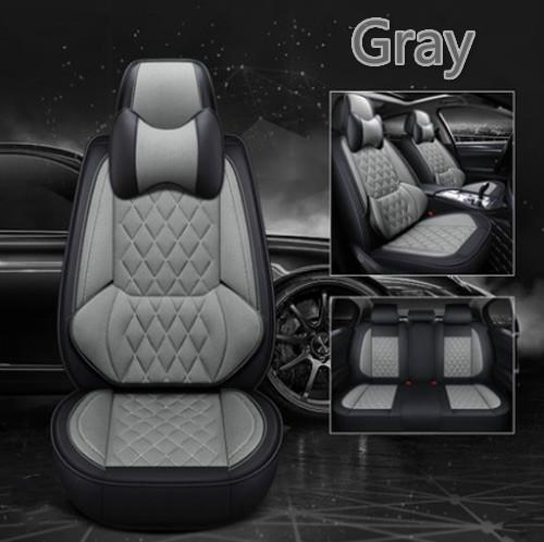 2019 new type 6D Mesh cloth car mat four season general car interior accessories full set car seat cover