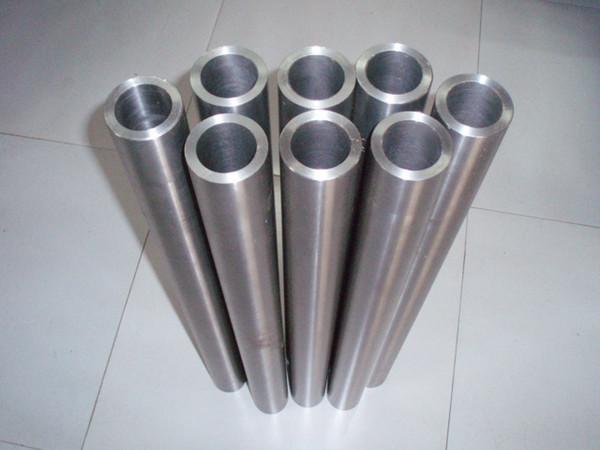 ASTM 337 338 seamless titanium alloy tube titanium pipes price 99.95% purity polished titanium pipe for Heat exchanger