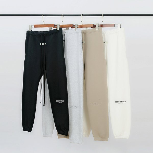 top popular mens sweatpants Jogger Autumn Winter FG Reflective Embroidery Trousers Casual Fog Sweatpants Men Women Jogger Pants 2020