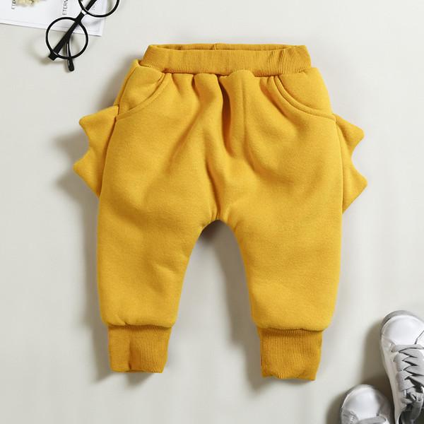 good quality winter baby boys pants cartoon newborn boys panda thicken leggings casual plus velvet trousers infant boys sports pants