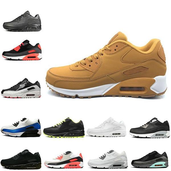 Moda all'ingrosso Uomo Sneakers Scarpe Classiche 90 Uomo e donna Scarpe da corsa Allenatore sportivo moda uomo donna di lusso sandali firmati scarpe