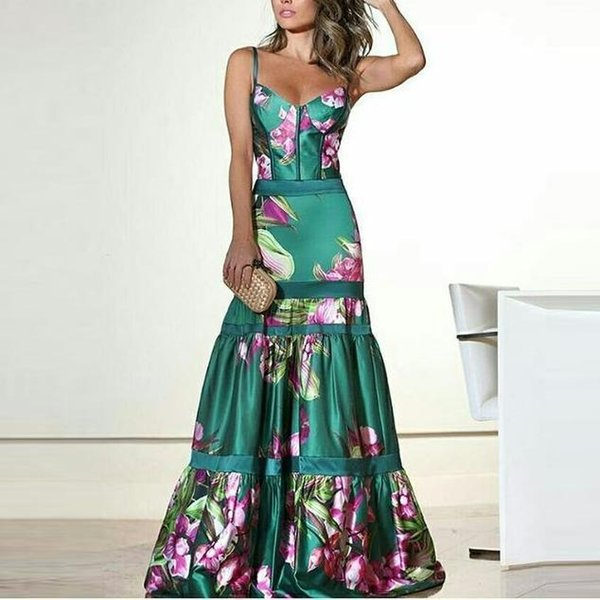 Best Selling Mermaid V-neck Floor Length Turquoise Chiffon Cap Sleeve Prom Dresses Beaded Pleats Green Prom Gowns Formal Evening Dresses