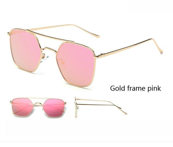 Colore lenti: cornice oro rosa