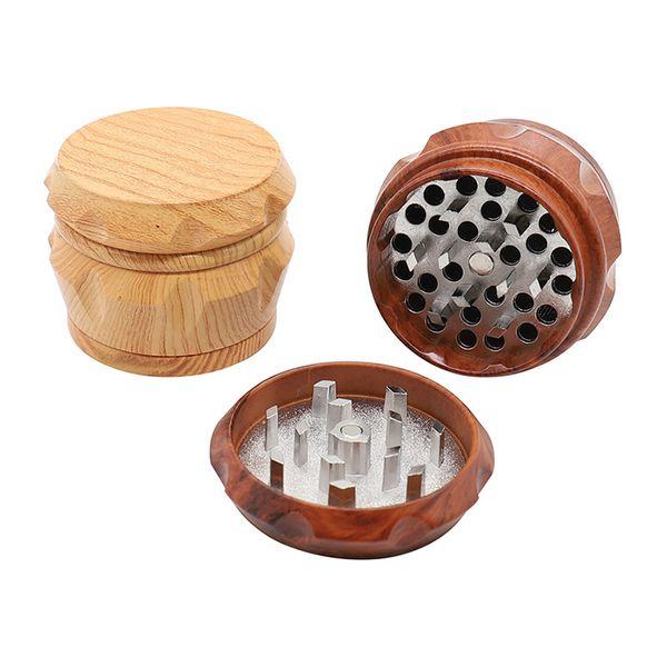 Frantumatore di legno sminuzzatrice tritacarne a mano 50 grammi 4 pezzi per sminuzzare tabacco prezzo di fabbrica