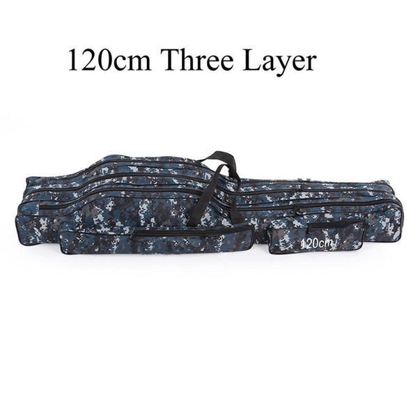 Fishing Bag Portable Tackle Outdoor Bags Storage Waist Case Lure Rod Multiple #836546