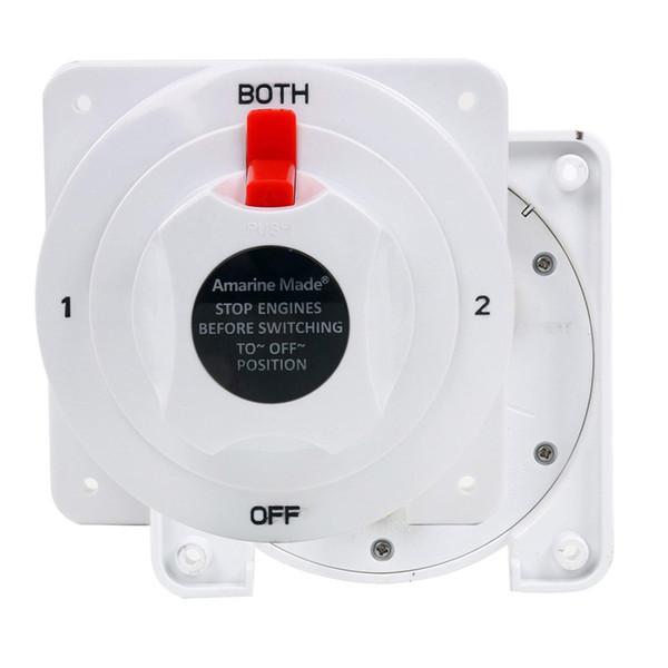 12-36V Bianco Distribuzione Di Alimentazione Marine Batteria selettore batteria Spegnere Dropship Auto Parts RV Vetture Accessori
