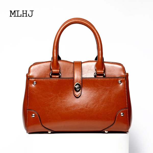 MLHJ handbags for women 2018 New fashion European and American style hand tote bag