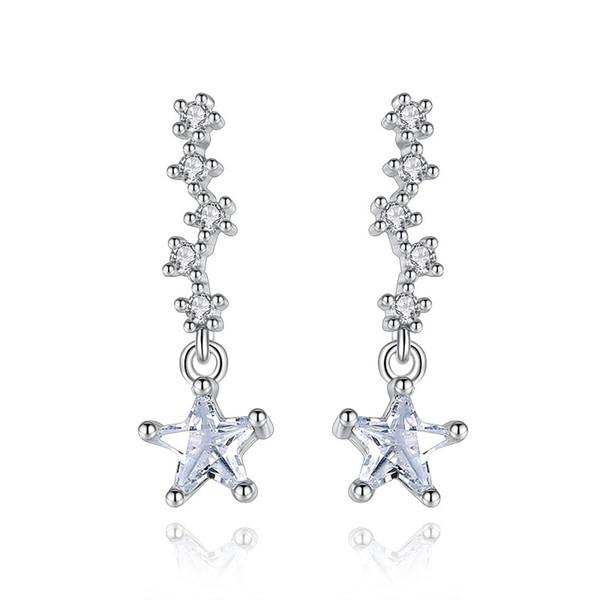 Designer Gun Black3 Star Stud Fashion Earrings Ear Jewellery WomenUK Seller