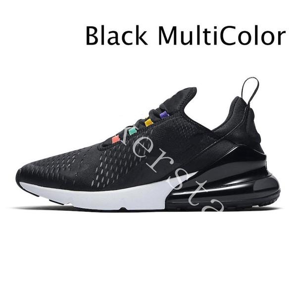 15 الأسود متعدد الألوان