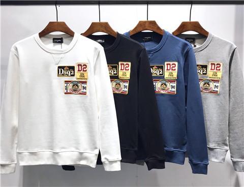HOT 2019 Fashion D2 Marke Männer Frauen Sweatshirt DSQ002 Kanada berühmt Herbst Winter Langarm Man Hop-Hop Rundhals Sweatshirt DS2 FW