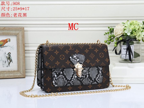 2019 Design Women's Handbag Ladies Totes Clutch Bag High Quality Classic Shoulder Bags Fashion Leather Hand Bags Mixed Order Handbags GG1094