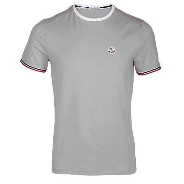Wholesale Mens t Shirts Mens Clothing Luxury Shirt Fashion Paris tiger head Shirt short Sleeve Crew Neck Cotton Shirt for Men