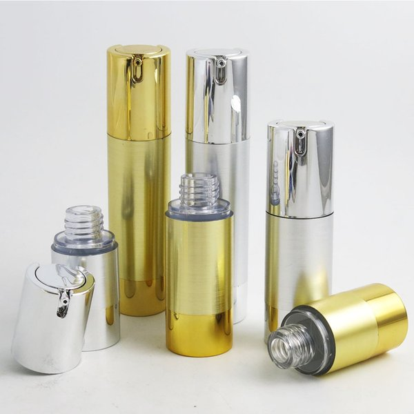 300 ml 15 ml 30 ml 50 ml alluminio airless lozione pompa bottiglia 1OZ Airless Container 30 ML Lozione Airless Packaging