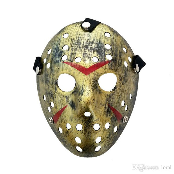 Halloween Mens Scary Mask Games Character Jason Cosplay Costume Accessories PVC Material Male Funny Party Mask