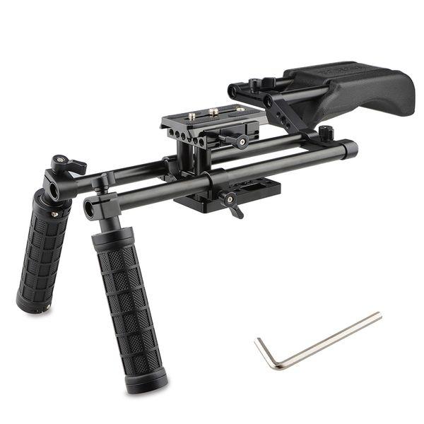 CAMVATE Rig-Kit für die Filmhalterung für die Filmhalterung zur Stabilisierung von SLR-Videokameras