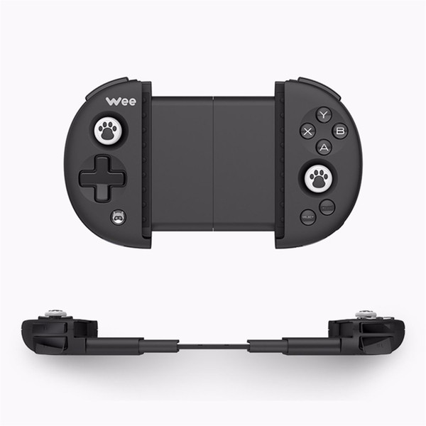 Freeshipping Bluetooth Wireless Game Controller Adjustable Ergonomics For iPhone For Android Compatibility Buttons Battery Control Joystick