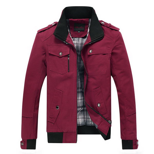 COBO 2019 primavera uomo una nuova giacca giacca di cotone lavaggio collare Leisure