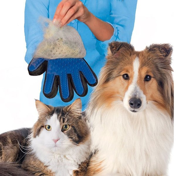 Dog glove pet animal deshedding bath cleaning massage silicone gloves cleaning tools pet cat silicone cat brush Dog brush