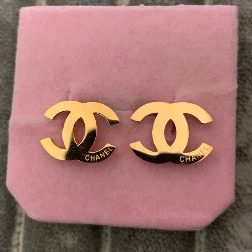 Classic Brand Designer 18K gold letter Stud EarringS Jewelry gold rose 3 colors earrings for Women Wedding Gift Free Shipping wholesale