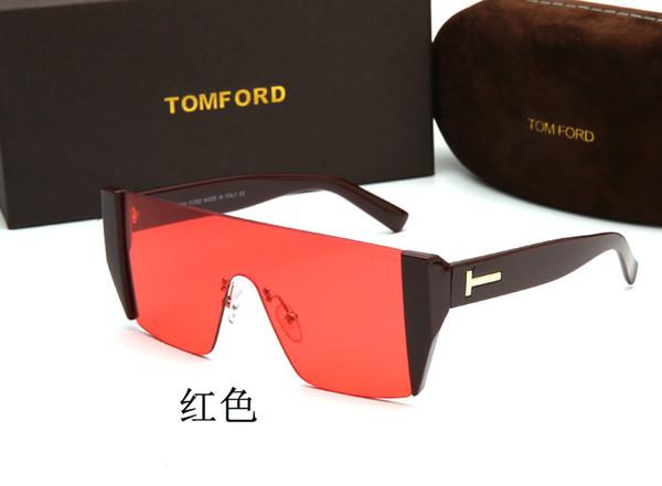 2019 diseñadores de moda las gafas de sol protección UV400 gran marco sencilla las mujeres clásicas del estilo de los hombres gafas al aire libre