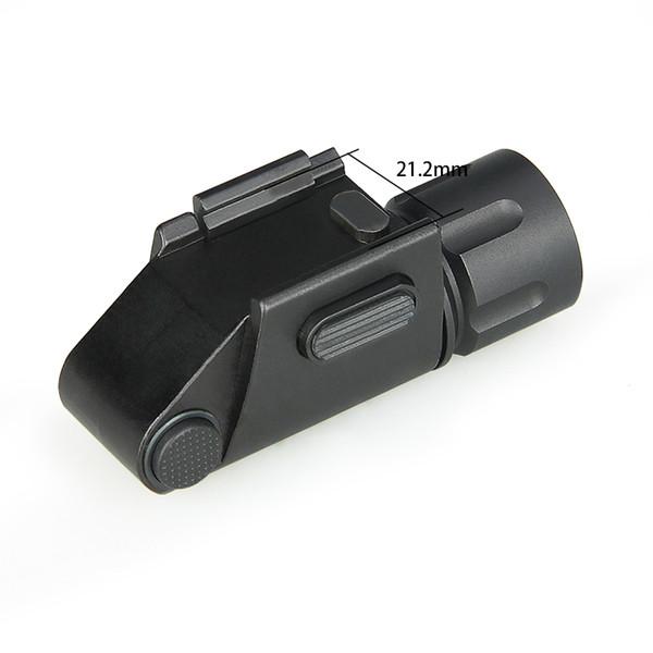 TRIJICON Éclairage Tactique Flashligh Chasse Lumière Forte Lumière Faible Lumière Strobe Pour Pistolet Picatinny Rail CL15-0131