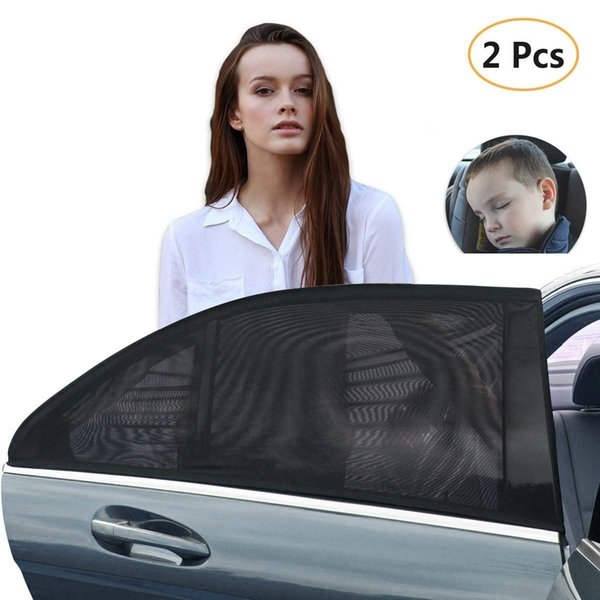 Car Side Window Sun Shade,Retractable Curtain Sunshade for Baby Child Pet,Sun UV Rays Protection Fit Most Sedans SUV