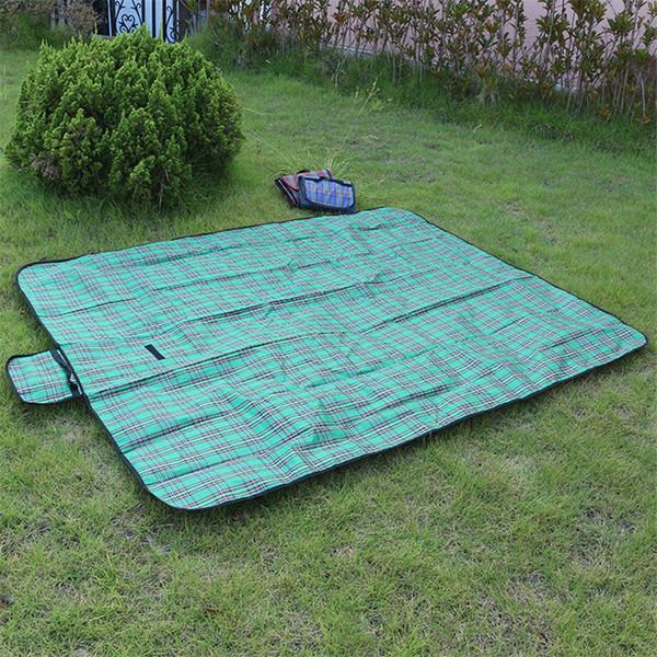 150x200 cm Camping Plaid Mat Coperta impermeabile Coperta Spiaggia esterna Camping Picnic Mat Plaid Baby Climb Outdoor Mat