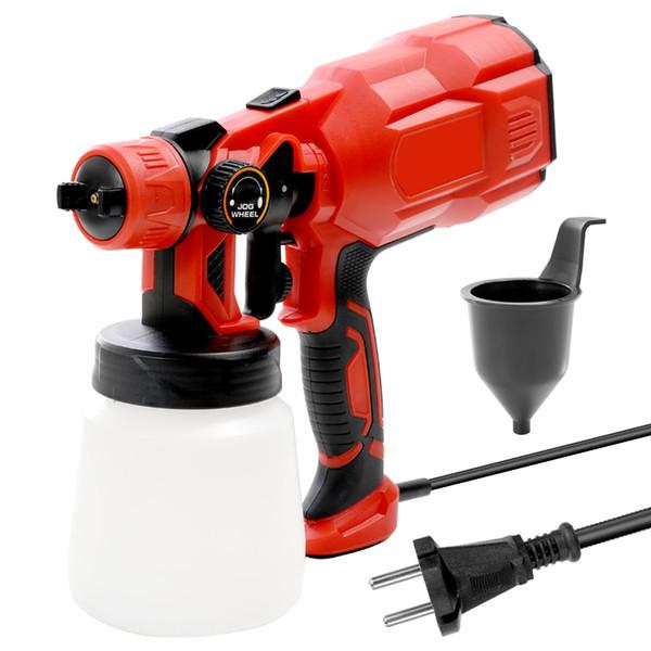 High Quality Handheld Multifunctional Electric Paint Spray Gun Machine Sprayer with Spray Width Adjustment airbrush compressor