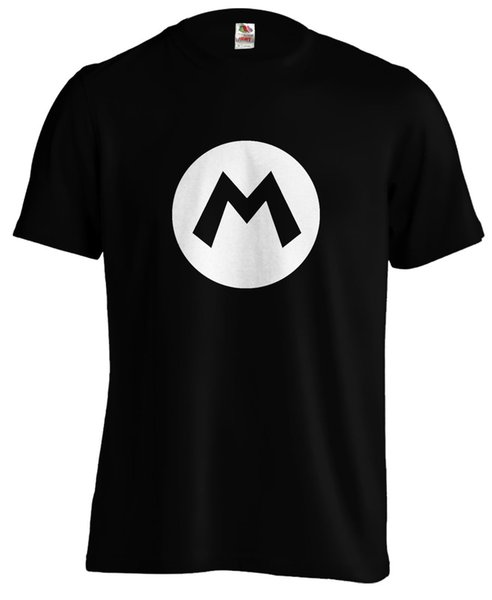 Mario M Super Mario Bros Gaming Gamer Game T Shirt Tee Funny Unisex Casual  Tshirt Top T Shirts Deals Super Cool T Shirts From Thetoynation, $10 28|