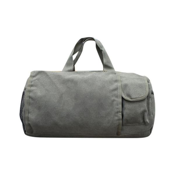 Tuval Spor Seyahat Omuz Duffle Tote Çanta Erkekler Ve Kadınlar Için Taşınabilir Su Geçirmez Bavul Çanta Haftasonu Spor Yoga Bavullar