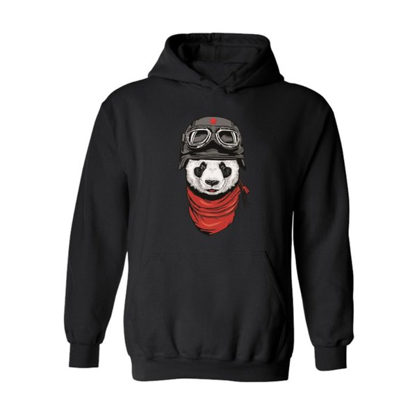Hot Sale Cute Panda Hoodies Cartoon Long Hoodies men women Couples Hip Hop Sweatshirts Street Wear Sportwear Hooded pullovers