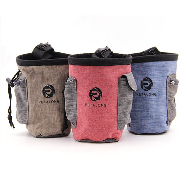 Pet Food Training Pouch dog Dog snack Puppy Walking Treat Snack Bag Dispenser Waist Storage Food Container Bag 3 style