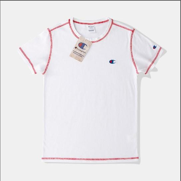 T-shirt manica corta inglese Tee Street 2019 T-shirt hip-hop t-shirt longuette da uomo