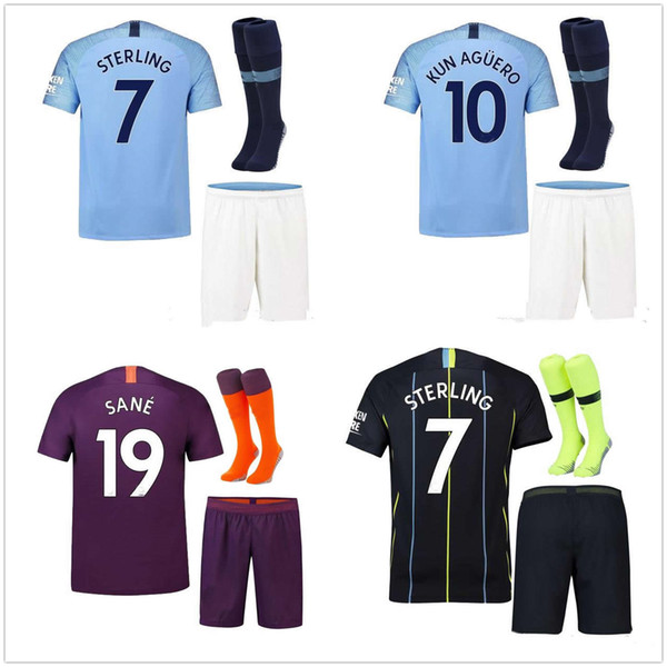 7b9af6793 2018 19 kun aguero third kit away occer jer ey mahrez terling home 18 19  manche