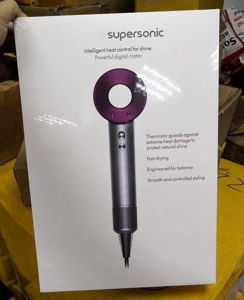 in magazzino Supersonc Strumenti professionali per parrucchieri Asciugacapelli Riscaldamento Super Speed Blower Asciugacapelli di alta qualità Asciugacapelli Asciugacapelli ad alta potenza