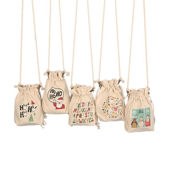 Impressão Saco de Compras Com Cordão Balde de Bolso Das Mulheres Pequena Cor Sólida Simples Senhoras Saco Mensageiro Casual